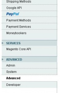 Magento advanced